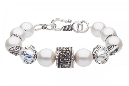 Pärlarmband i Orientalisk Design